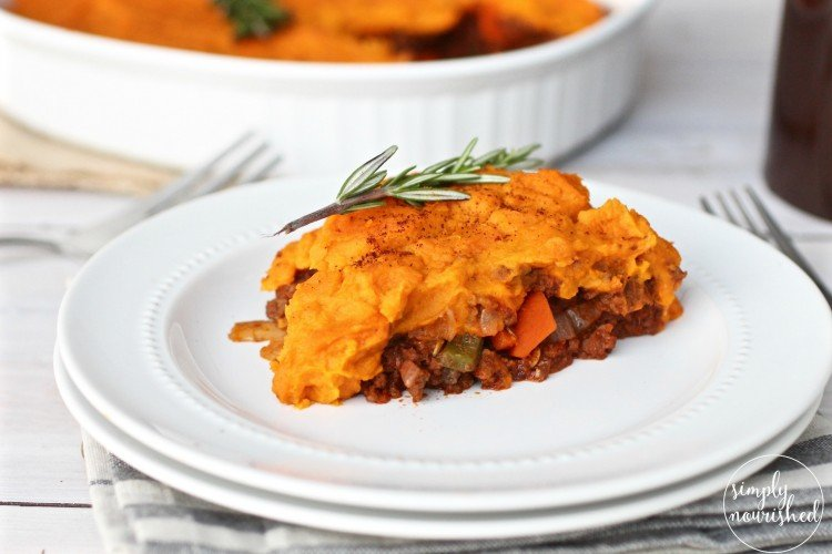 Cool Whole 30 Shepherds Pie With Sweet Potato Crust Complete Home Design Collection Epsylindsey Bellcom
